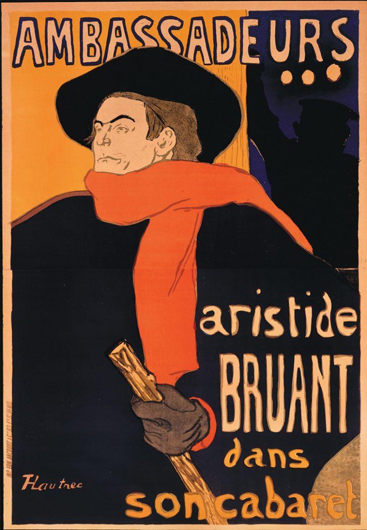 Ambassadeurs Aristide Bruant_Toulouse-Lautrec