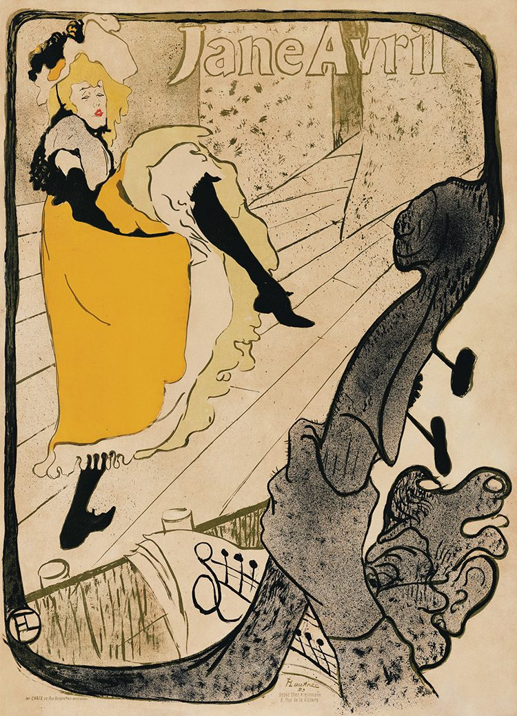 Jane Avril (1893)_Toulouse-Lautrec