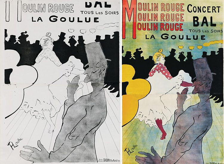 Moulin Rouge, La Goulue_side by side