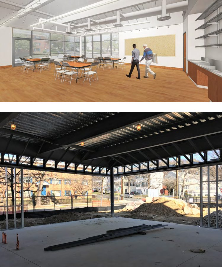 Rendering of the Phillips@THEARC space