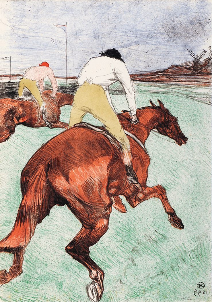 Jockey, The_Toulouse-Lautrec