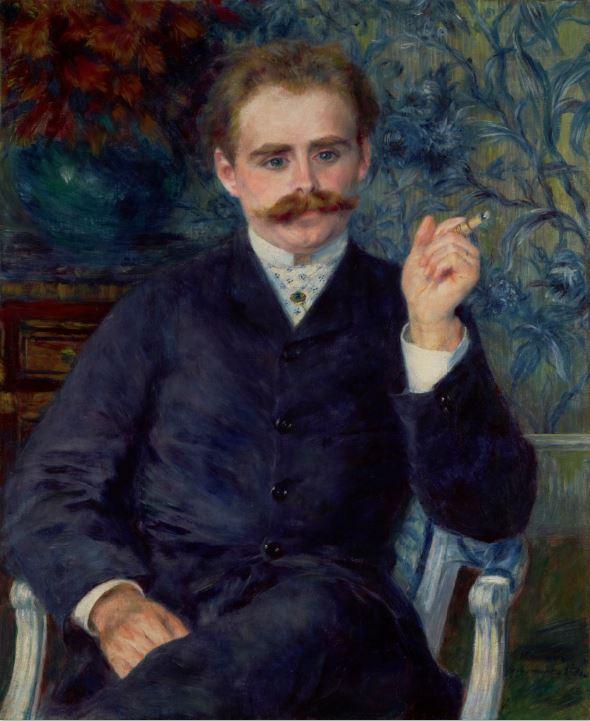 Pierre-Auguste Renoir, Albert Cahen d'Anvers, 1881