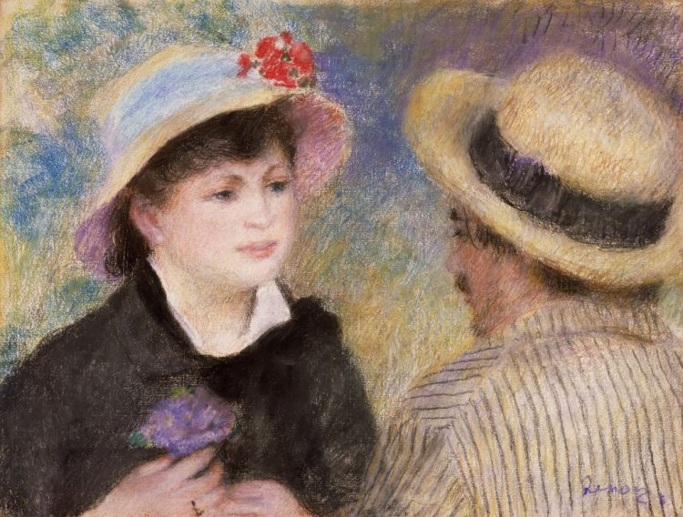 Pierre-Auguste Renoir, Boating Couple, 1880–81