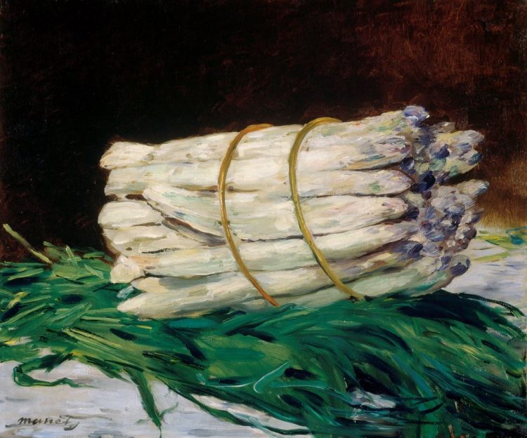 Édouard Manet, A Bunch of Asparagus, 1880