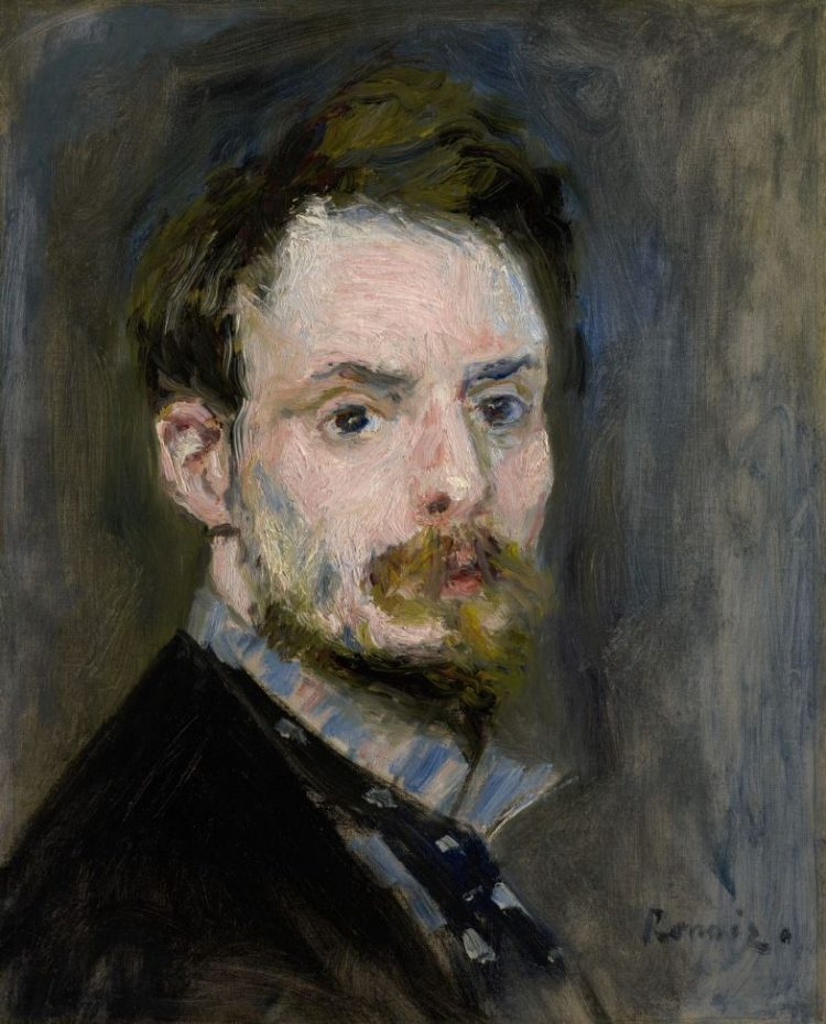 Pierre-Auguste Renoir, Self-Portrait, c. 1875