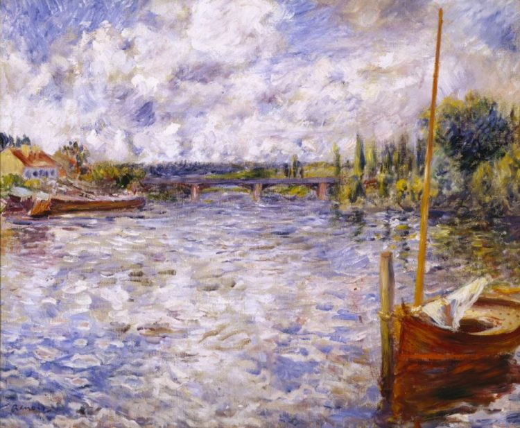 Pierre-Auguste Renoir, The Seine at Chatou, 1874