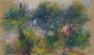 Pierre-Auguste Renoir, On the Shore of the Seine, c. 1879