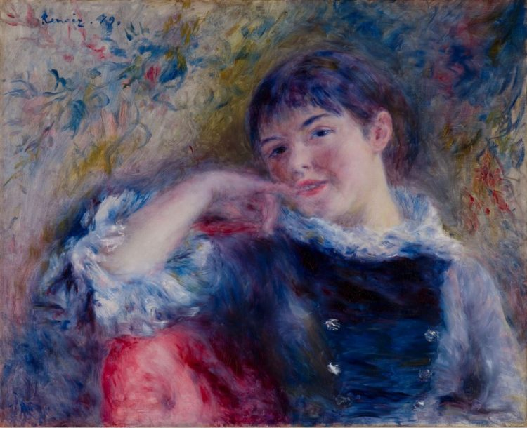 Pierre-Auguste Renoir, The Dreamer, 1879