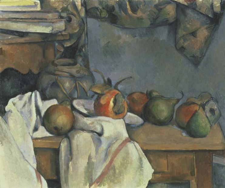 Paul Cézanne, Ginger Pot with Pomegranate and Pears, 1893