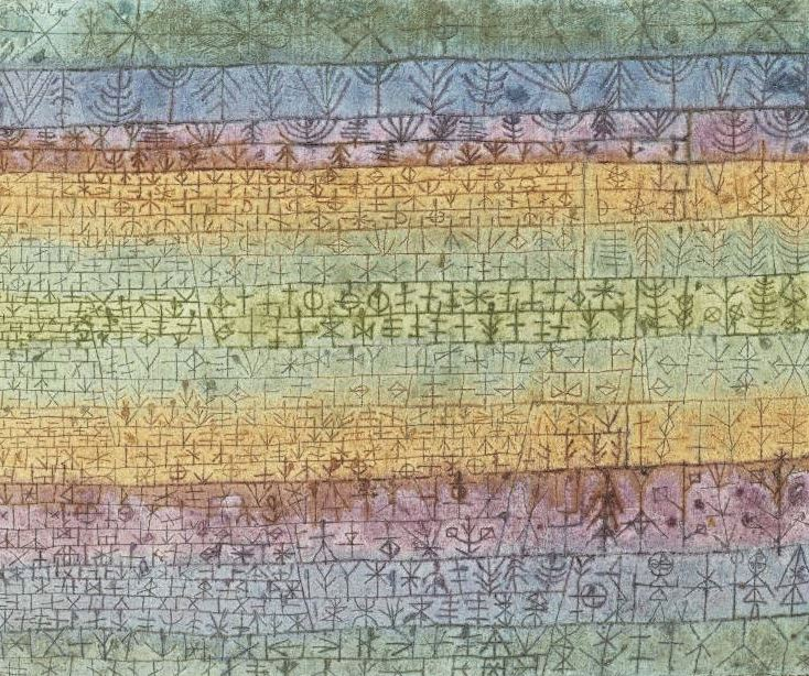 Paul Klee, Tree Nursery, 1929