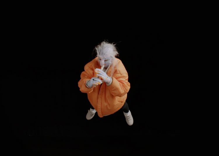 Tori Wrånes, Ancient Baby, 2017, Video projection, sound variable, Courtesy of the artists and Carl Freedman Gallery