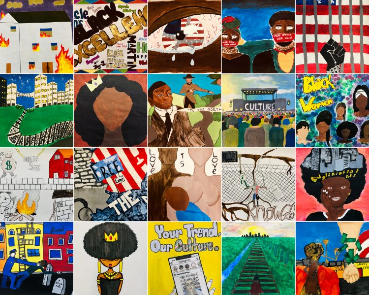#Panel61 submissions from Mrs. O'Brien's African American History class at The Milton Hershey School