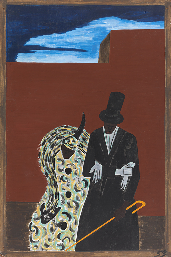 Jacob Lawrence, The Migration Series, Panel no. 53