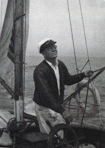 Photograph of Arthur Dove on board the Mona