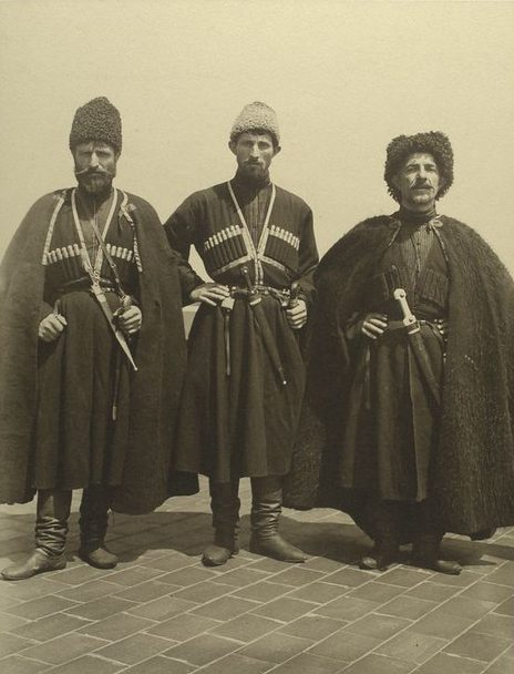 Augustus Sherman, Russian Cossacks (from Ellis Island Series), 1906, Photography Collection, The New York Public Library