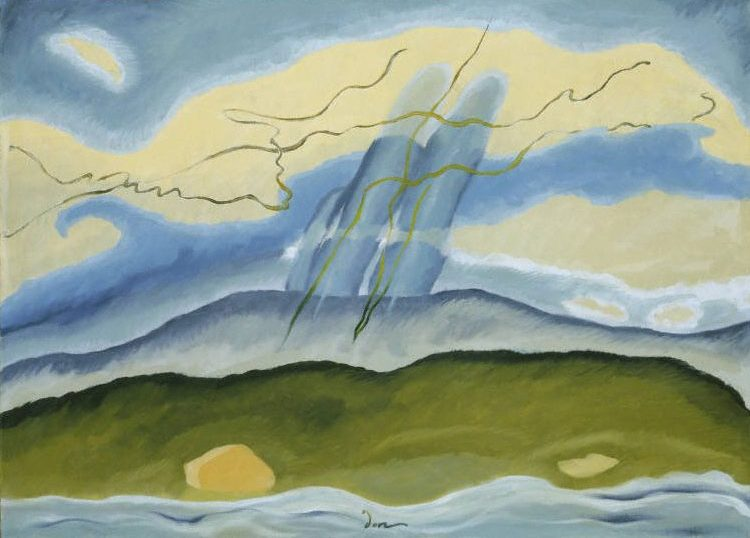 Arthur Dove, Sun Drawing Water, 1933